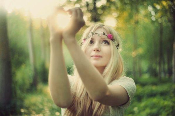 картинки женщина и природа